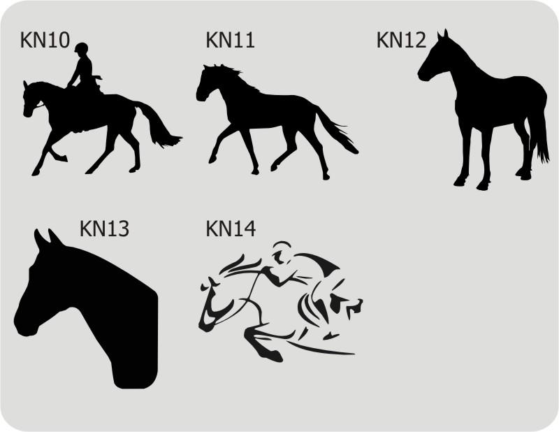 Konie, Koń, naklejki